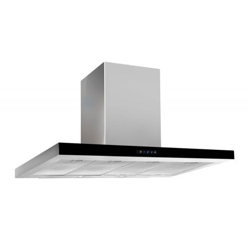 Кухонная вытяжка Akpo Feniks Slim Glass II 90 wk-9 нержавеющая сталь